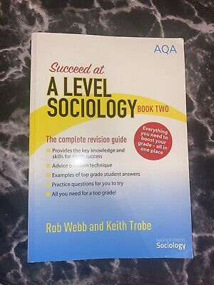 £8 • Buy Succeed At AQA A Level Sociology Book 2 Year 13 Revision Guide