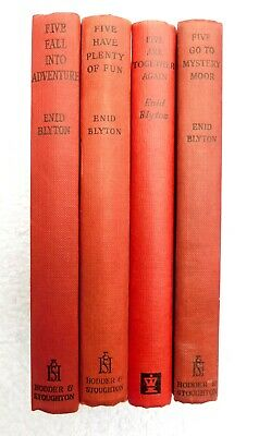 £4.99 • Buy Enid Blyton - Famous Five - Set Of 4 Books. Illustrated Mystery, Fun, Adventure