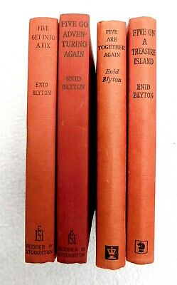 £4.99 • Buy Enid Blyton - Famous Five - Set Of 4 Books. Illustrated Fix, Together, Treasure