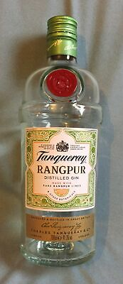 £6 • Buy Tanqueray Rangpur Distilled Gin, 70cl (empty), Limited Edition, Upcycle