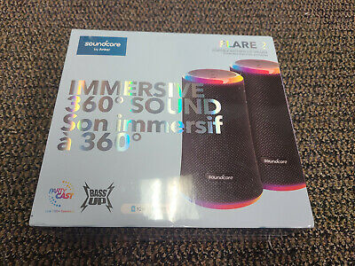 AU179.38 • Buy Brand New Sealed Anker Soundcore Flare 2 Speakers 2 Pack Powerful360 Audio