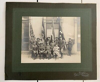 £45 • Buy Antique Military Original Photograph WW1 Special Forces British American Italy