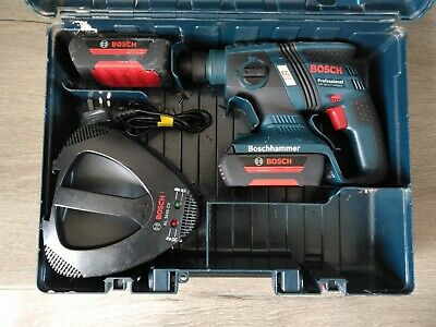£155 • Buy Bosch GBH 36V - EC Compact Professional Hammer Drill,Charger And 2 X 1.3ah Batts