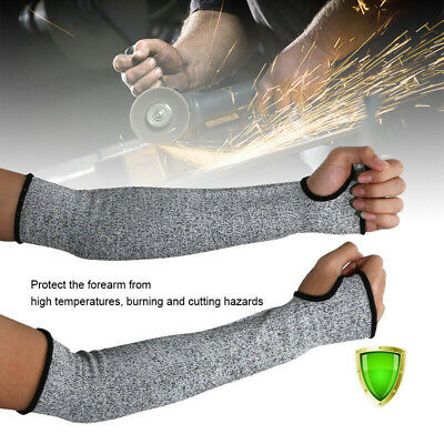 £5.96 • Buy 1 Pair Safety Protective Arm Sleeve Guard Cut Proof Anti Cut-Resistant Gloves QN