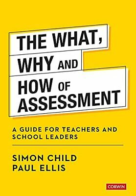 £24.31 • Buy The What  Why And How Of Assessment: A Guide For Teachers And School Le New Book