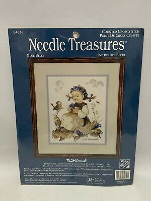 £18.29 • Buy Needle Treasures Counted Cross Stitch Hummel BLUE BELLE 04636 8 X10  Sealed New