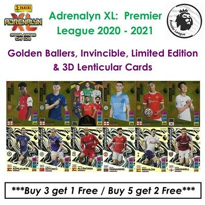 £7.95 • Buy Panini Adrenalyn XL - Premier League 2021 - 22: Golden Ballers & Limited Edition