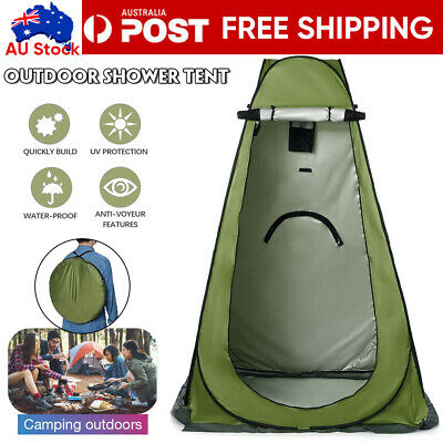 AU32.09 • Buy Portable Pop Up Outdoor Camping Shower Tent Toilet Change Room W/CarryBag New