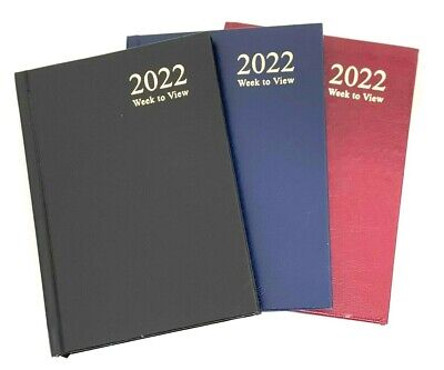 £3.49 • Buy TALLON 2022 A4/A5/A6 Diary Week To View And Day A Page Hard Backed Diary