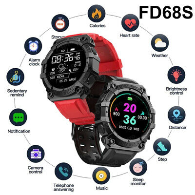 AU15.69 • Buy Smart Watch Bluetooth Sport Waterproof Heart Rate Blood Pressure For IOS Android