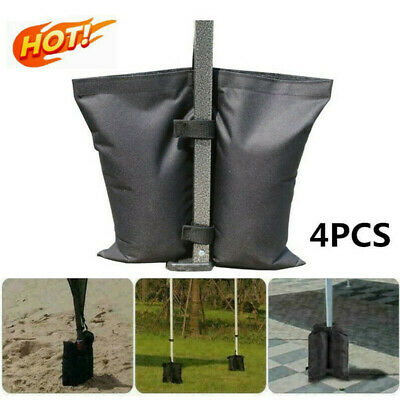 AU11.86 • Buy 4PACK Garden Gazebo Foot Leg Feet Weights Sand Bag For Marquee Party Tent Set AU