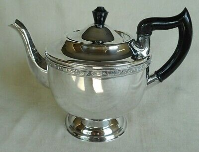 £46 • Buy Vintage Viners Of Sheffield Silver Plated Teapot - Beautiful Shape