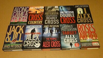 £20.36 • Buy Lot 10 James Patterson Alex Cross HC Books Along Came A Spider, Roses Are Red ++