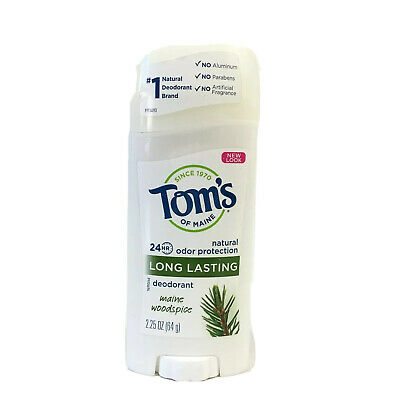 £10.48 • Buy Toms Natural Odor Protection 24HR Deodorant Maine Woodspice 2.25 Oz