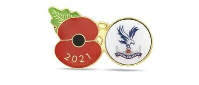 £7.50 • Buy 2021 Official Remembrance Pin Badge. Brand New. Crystal Palace FC ⚽️