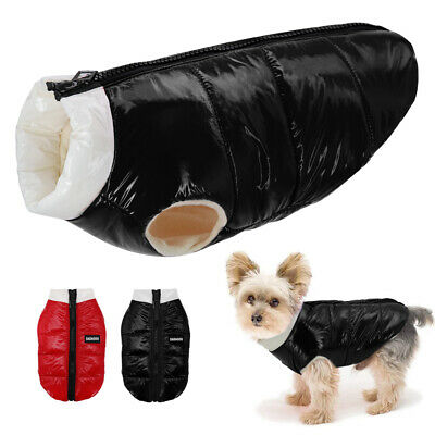 £8.69 • Buy Small Dog Coats For Winter Waterproof Pet Clothes Jackets Vest Jack Russell Pug