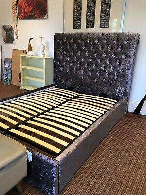 £595 • Buy King Size Bed,ottoman Lift Up Storage Bed From Benson Beds Ex Display ,