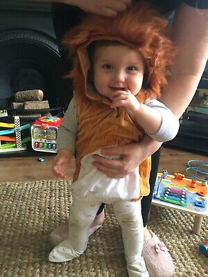 £7 • Buy Baby Toddler Lion Dress Up Costume Age 1-3 Years
