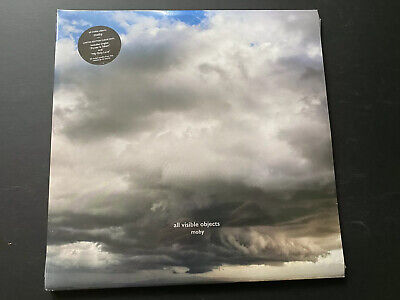 £24 • Buy Moby All Visible Objects LP ~ 2 X Clear Vinyl Limited ~ Sealed New