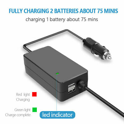 AU43.19 • Buy 4 In 1 Intelligent Battery Car Charger For DJI Mavic Air 2 Remote Controller