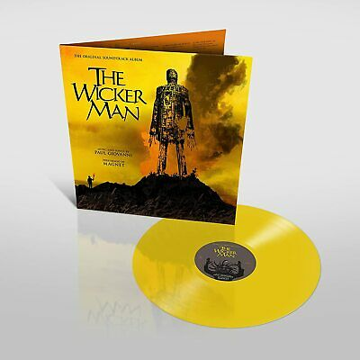 £22.99 • Buy The Wicker Man Soundtrack - Paul Giovanni/Magnet - Limited Yellow Vinyl LP [NEW}