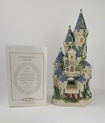 £175.49 • Buy David Winter Cottages Guinevere's Castle Ltd Ed 2782 Of 4300 With COA And Box