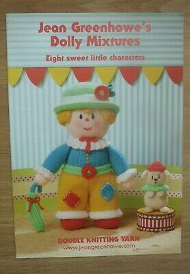 £4.95 • Buy Jean Greenhowe's Dolly Mixtures Knitting Pattern Booklet (NEW)