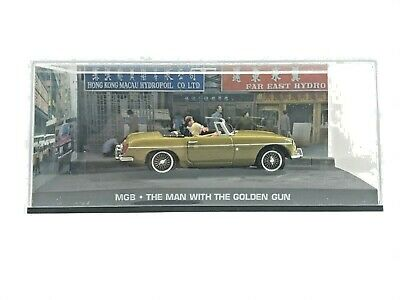 £27.50 • Buy JAMES BOND 007 Collection MGB - THE MAN WITH THE GOLDEN GUN Scale Model Toy 1/43