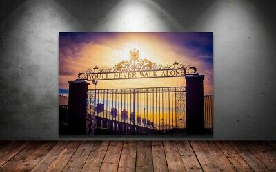 £20.99 • Buy LIVERPOOL ANFIELD FOOTBALL - YOU'LL NEVER WALK ALONE SUNSET 30x20 Inch Canvas UK