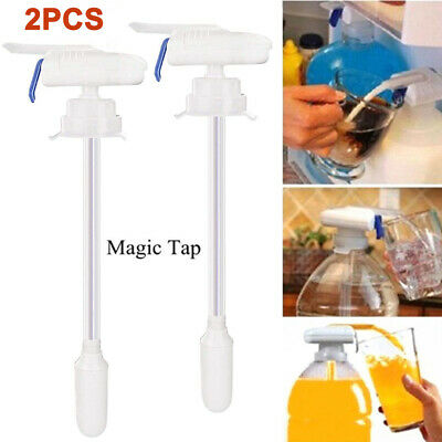 £9.96 • Buy 2X Magic Tap Automatic Drink Dispenser Water Milk Electric Dispenser Spill Proof