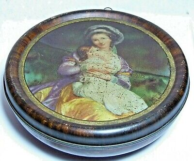 £19.99 • Buy Antique Rowntrees Sweets Chocolates Tin Mother & Child Figural Bowl/picture