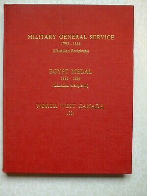£15.25 • Buy Military General Service 1793-1814 (Canadian Recipients) Egypt Medal 1882-1889