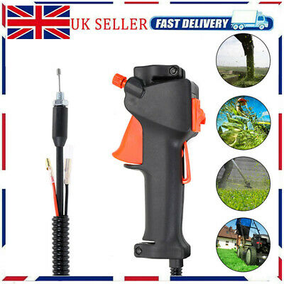 £10.85 • Buy Strimmer Trimmer Brush Cutter Handle Switch Throttle Trigger Cable Fit 26mm Tube