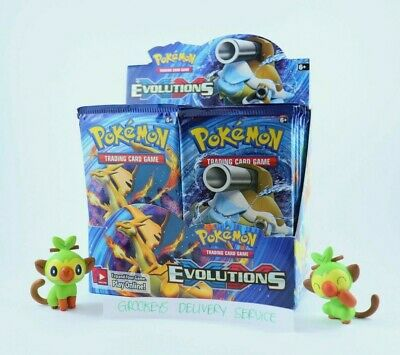 AU39.95 • Buy Pokemon - TCG - XY Evolutions - Booster Pack - RARE, GENUINE, FACTORY SEALED