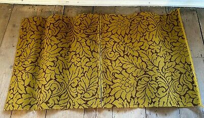 £6 • Buy Two Pieces Vintage Brintons Carpet, Sewn Together To Form A Rug Size