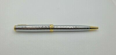 £11.99 • Buy Silver Gold Parker Sonnet Ballpoint Pen FREE NEXT DAY DELIVERY