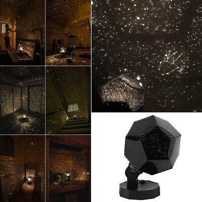 AU16.79 • Buy LED Galaxy Starry Night Light Laser Projector Ocean Star Sky Party Lamp HG