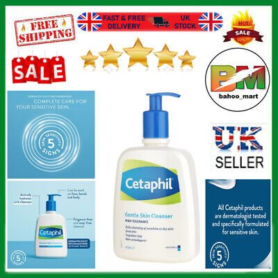 £11.45 • Buy Cetaphil Gentle Skin Cleanser, 473ml NEW  UK Free And Fast Delivery