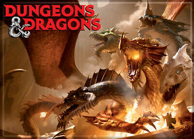 AU32.68 • Buy Dungeons And Dragons Rise Of Tiamet 3.5 X 2.5 Magnet