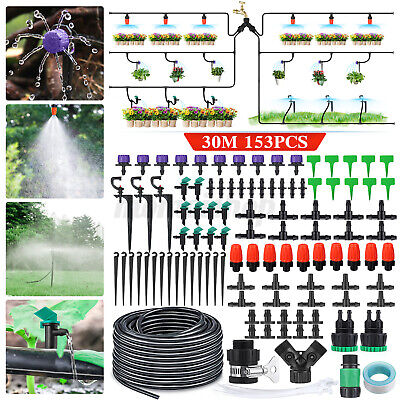 £9.99 • Buy  Automatic DIY Drip Irrigation System Plant Self Watering Garden Hose Kit