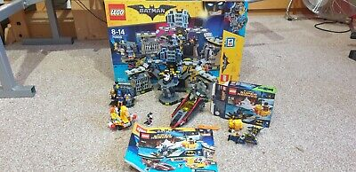 £80 • Buy Lego Batman Movie Batcave Break-In 70909 And 76010 And Boxes And Instructions