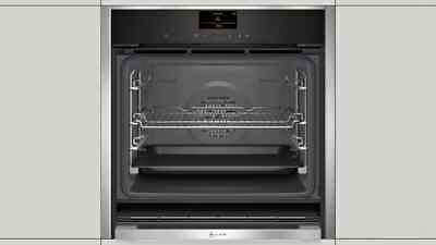 £800 • Buy NEFF B47CS34H0B Built In Single Oven Electric - Stainless Steel - NEW