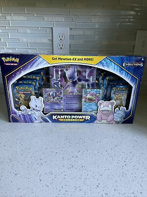 $199.99 • Buy Pokemon TCG: Kanto Power Collection Box Mewtwo EX 10 PACK! Xy Evolutions Sealed