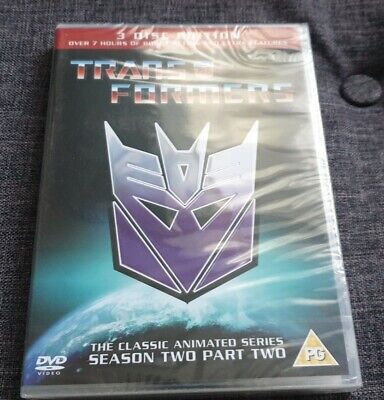 £4.95 • Buy Transformers The Classic Animated Series Season Two Part Two DVD Set (New)