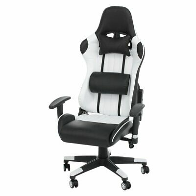 £56.99 • Buy Swivel Office Racing Gaming Chairs Leather Recliner Computer Chair Executive