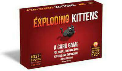AU39.99 • Buy Exploding Kittens Card Game