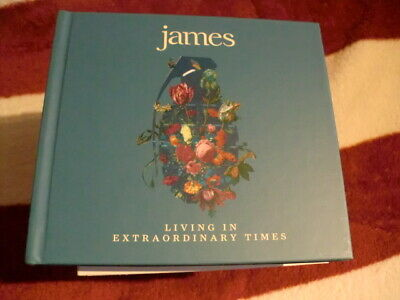 £0.99 • Buy JAMES ~ LIVING IN EXTRAORDINARY TIMES (2018 CD) 99p