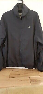 £30 • Buy Mens Lacoste Tracksuit Top, Navy Blue, #used Item In Good Condition