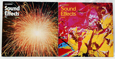 £9.99 • Buy BBC SOUND EFFECTS No 1 And No 6 Vinyl LPs BBC Records UK Great Condition!