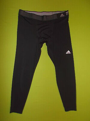 £16.99 • Buy NEW 3/4 LENGTH Leggings ADIDAS TECHFIT Compression Tight (2XL) PERFECT ! Running